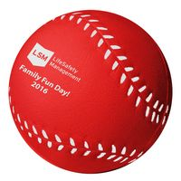 Red Baseball Stress Reliever