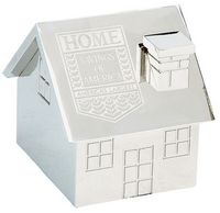 Metal House Paper Weight
