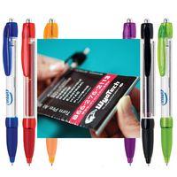 Banner Click Action Plastic Pen