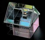 Custom Rainbow House Paper Weight