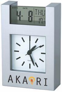 Analog Clock with Digital Date Display