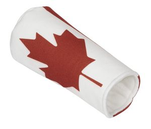 Woolies Canadian Flag Driver Cover for Golf