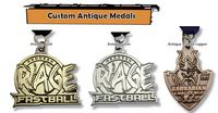 "1 1/2"" Custom Die Struck Antique Medals"
