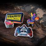 Custom Stainless Steel Printed Pins (1