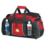 Custom Sports Duffel Bag w/Tech Dot Trim