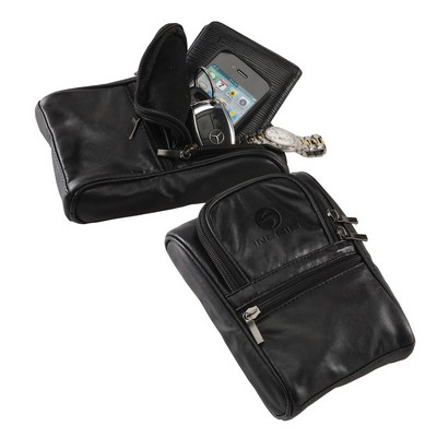 Leather Golf Pouch