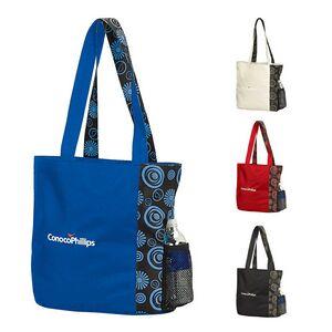 Custom Imprinted Blue Color Tote Bags