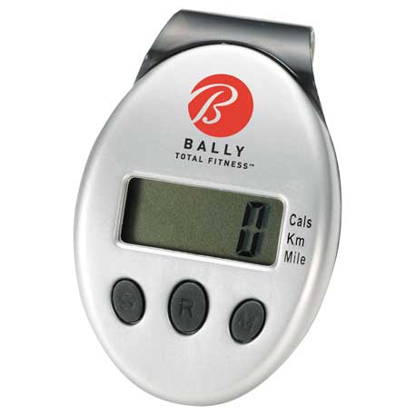 Clip-On Pedometer, SM-7878 - 1 Colour Imprint