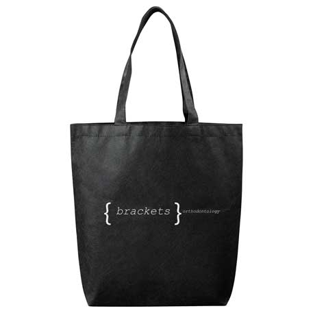 Eros Non-Woven Shopper Tote, SM-7329, 1 Colour Imprint