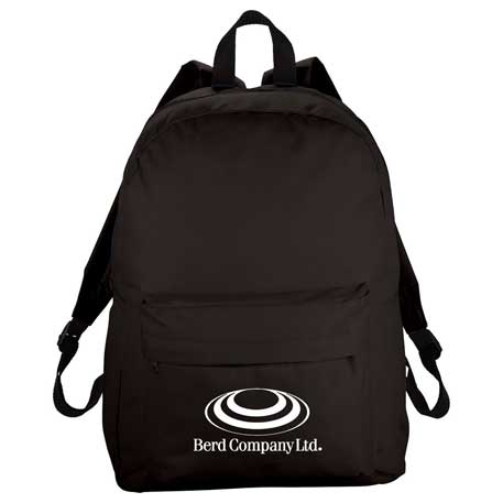Breckenridge Classic Backpack, SM-7386 - 1 Colour Imprint