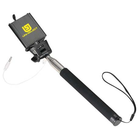Wire Selfie Stick, SM-3989 - 1 Colour Imprint