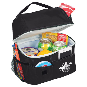 Storage Box 11-Can Lunch Cooler, SM-7224, 1 Colour Imprint