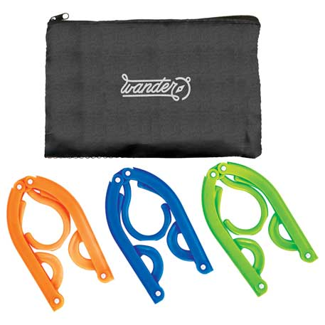 Hanger Set With Pouch, SM-9533 - 1 Colour Imprint