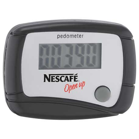 In Shape Pedometer, SM-7886, 1 Colour Imprint
