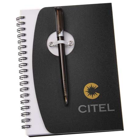 The Sun Spiral Notebook, SM-3461 - 1 Colour Imprint