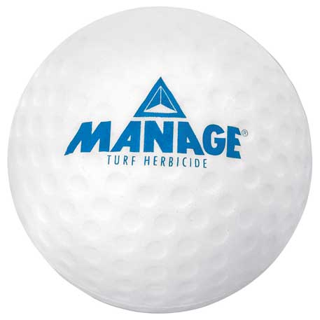 Golf Ball Stress Reliever, SM-3353, 1 Colour Imprint