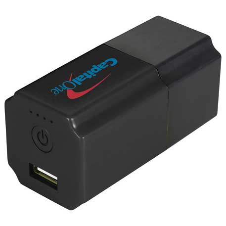 Dyad AC Adapter and Power Bank, SM-3750 - 1 Colour Imprint