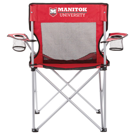 Fanatic Event Folding Mesh Chair, SM-7785, 1 Colour Imprint