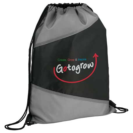 Pennant Drawstring Sportspack, SM-7245 - 1 Colour Imprint
