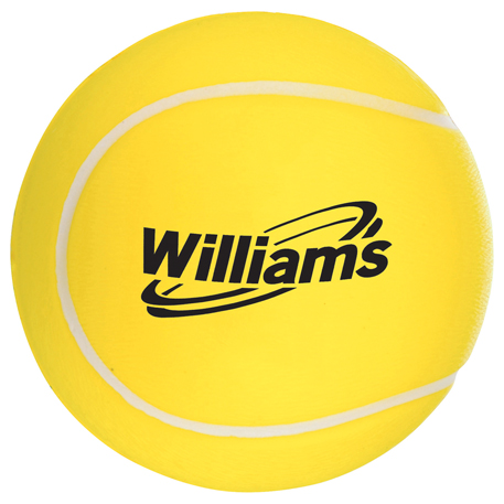 Tennis Ball Stress Reliever, SM-3135 - 1 Colour Imprint