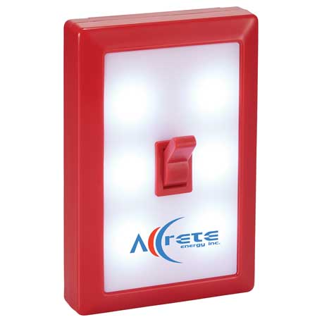 Power Switch LED Light, SM-9677, 1 Colour Imprint