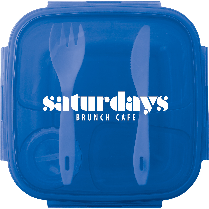 Salad To Go Container, SM-2164, 1 Colour Imprint