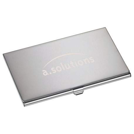 Traverse Business Card Holder, SM-9590, Laser Engraved