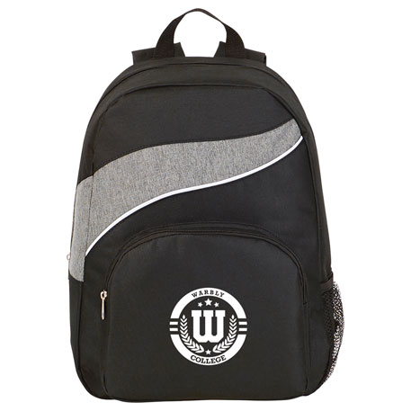 Tornado Deluxe Backpack, SM-7396 - 1 Colour Imprint