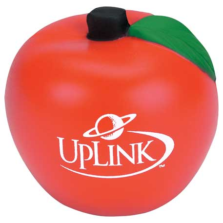 Apple Stress Reliever, SM-3356 - 1 Colour Imprint
