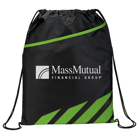 Flash Drawstring Sportspack, SM-7203, 1 Colour Imprint