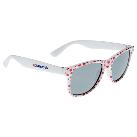Maple Leaf Sun Ray Sunglasses, SM-7896, 1 Colour Imprint