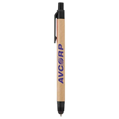 Planet Ballpoint Pen-Stylus, SM-4834, 1 Colour Imprint