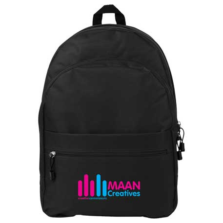 Campus Deluxe Backpack, SM-7158 - 1 Colour Imprint