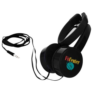 Soundwave Foldable Headphones, SM-3957 - 1 Colour Imprint
