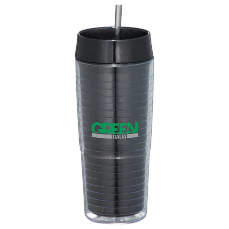 Xander 20-oz. Tumbler with Straw, SM-6677 - 1 Colour Imprint