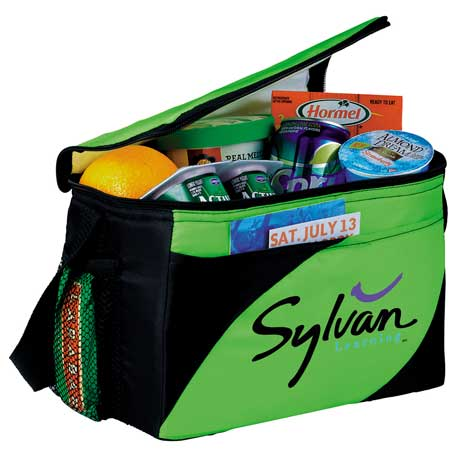 Mission 6-Can Lunch Cooler, SM-7305, 1 Colour Imprint