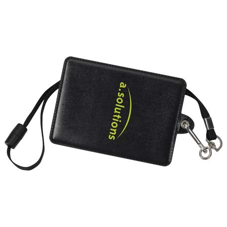 Glory I.D. Holder with Lanyard, SM-2412, 1 Colour Imprint