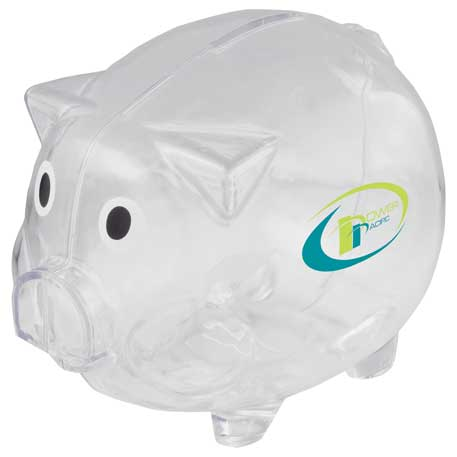 Piggy Bank, SM-3250, 1 Colour Imprint