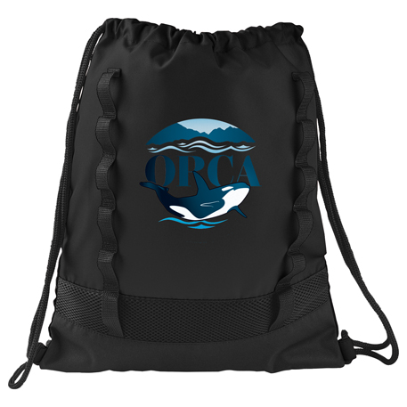 Tactical Mesh Drawstring Bag, SM-7049, 1 Colour Imprint