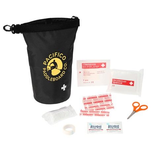 Venture Waterproof 12-Pc First Aid Bag, SM-1406, 1 Colour Imprint