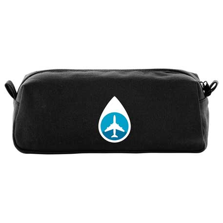 Cotton Canvas Travel Pouch, SM-7792, 1 Colour Imprint