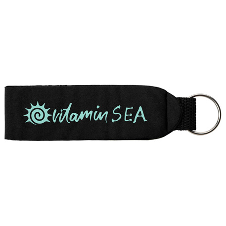 Vacay Key Tag with Split Ring, SM-7900, 1 Colour Imprint