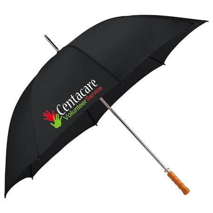 "Palm Beach 60"" Steel Golf Umbrella, SM-9560 - 1 Colour Imprint"