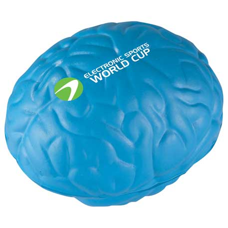 Brain Stress Reliever, SM-3393, 1 Colour Imprint