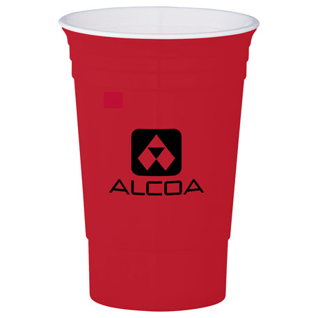 The 16-oz. Party Cup, SM-6688 - 1 Colour Imprint