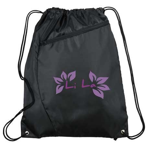 Sonar Drawstring  Bag, SM-7593, 1 Colour Imprint
