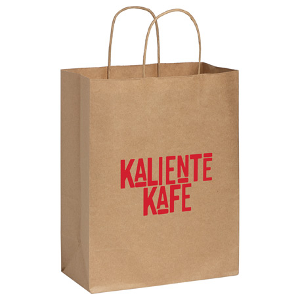 Kraft Paper Medium Bag, SM-5602, 1 Colour Imprint