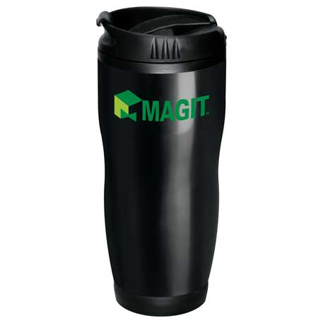 Logan 16-oz. Travel Tumbler, SM-6651 - 1 Colour Imprint