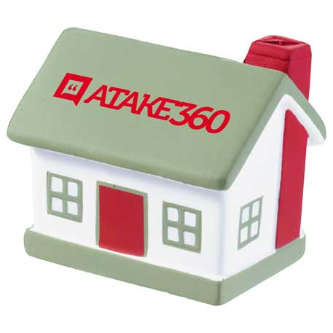 House Stress Reliever, SM-3381 - 1 Colour Imprint