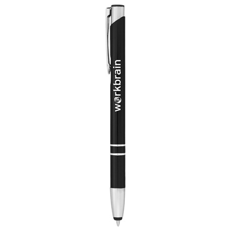The Electra Metal Pen-Stylus, SM-4859 - Laser Engraved Imprint